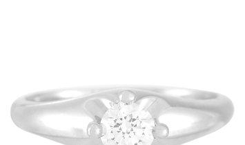 Bvlgari Bvlgari Platinum 0.35 ct Diamond Engagement Ring