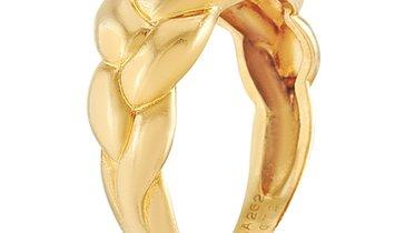 Van Cleef & Arpels Van Cleef & Arpels 18K Yellow Gold 0.21 ct Diamond Ring