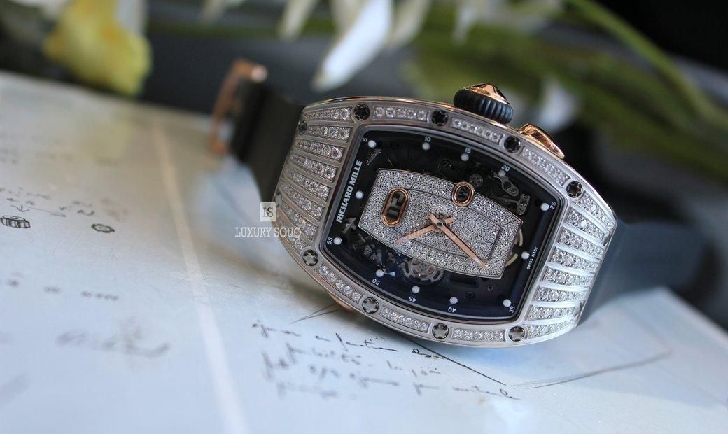Richard Mille RM037 White Gold Diamond Set
