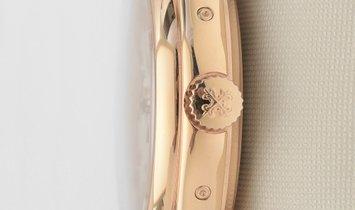 PATEK PHILIPPE COMPLICATIONS 5146R-001 ROSE GOLD ANNUAL CALENDAR MOON PHASE DATE CREAM