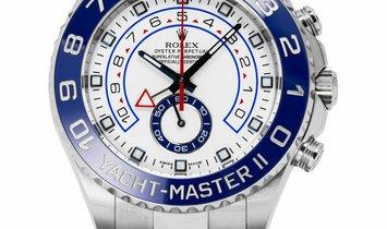 Rolex Yacht-Master II 116680, Baton, 2015, Very Good, Case material Steel, Bracelet mat