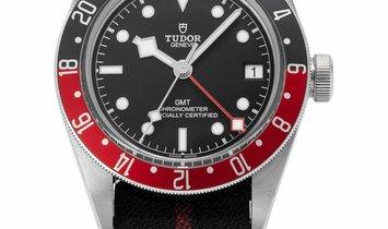 Tudor Black Bay GMT 79830RB, Baton, 2019, Very Good, Case material Steel, Bracelet mate