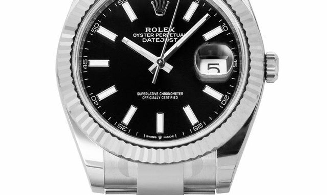 Rolex Datejust 126334, Baton, 2020, Unworn, Case material Steel, Bracelet material: Ste