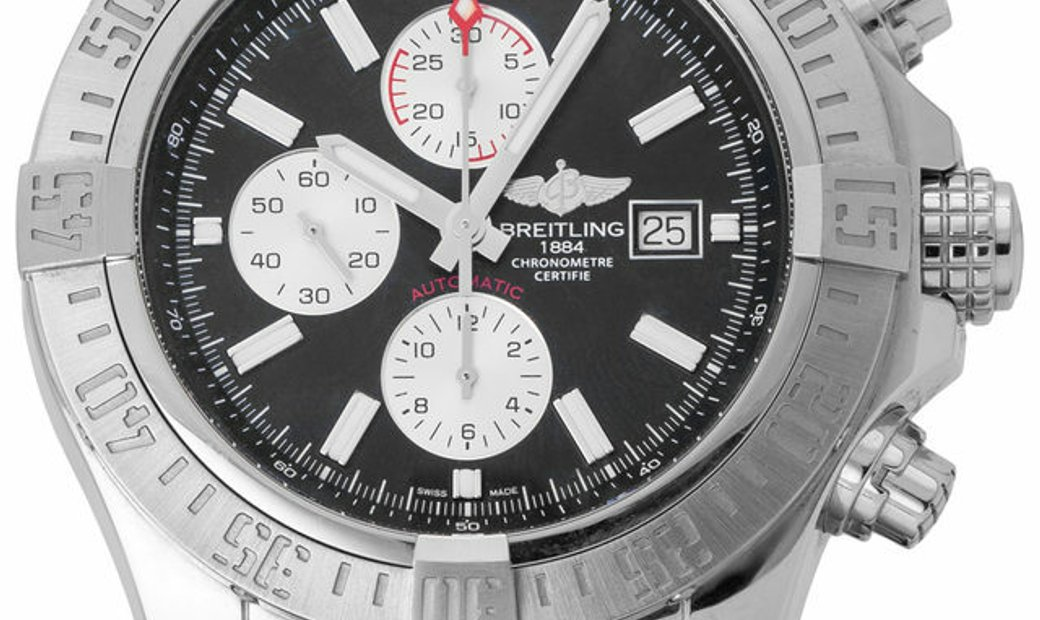 Breitling Super Avenger II A13371111B1S1, Baton, 2020, Very Good, Case material Steel,