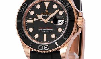 Rolex Yacht-Master 126655 , Baton, 2019, Very Good, Case material Rose Gold, Bracelet m