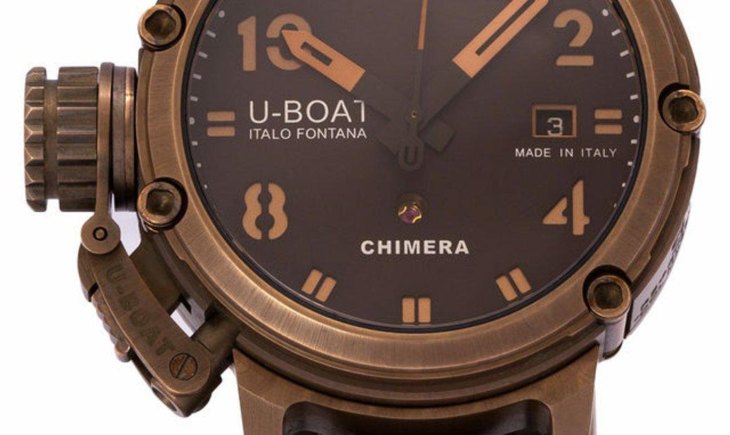 U-Boat Chimera Limited Edition  7236, Baton, 2016, Good, Case material Bronze, Bracelet