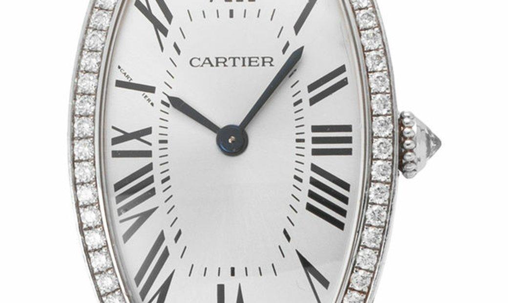 Cartier Montre Tonneau 2711, Roman Numerals, 2008, Very Good, Case material White Gold,