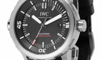IWC Aquatimer IW329101, Baton, 2018, Good, Case material Titanium, Bracelet material: R