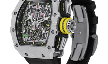 Richard Mille Titanium Automatic Flyback Chronograph Watch RM11-03