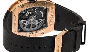 Richard Mille 18k Rose Gold Skelontonized Watch RM005