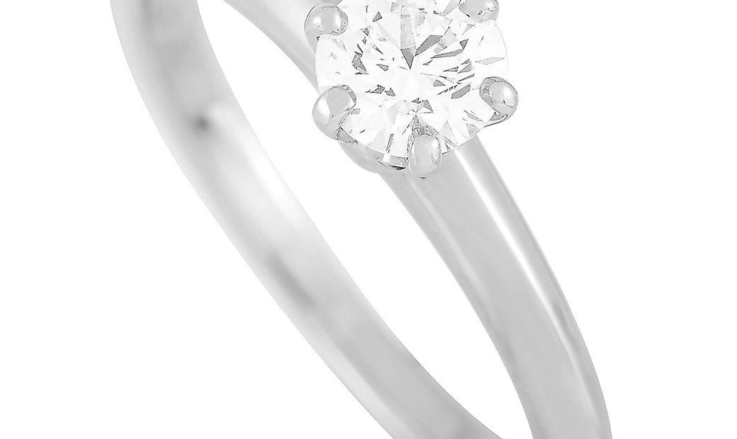 Tiffany & Co. Tiffany & Co. Platinum 0.32 ct Diamond Engagement Ring