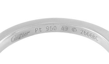 Cartier Cartier Solitaire Platinum 0.60 ct Diamond Engagement Ring