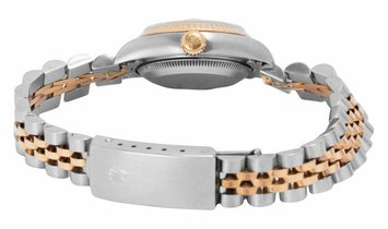 Rolex Lady-Datejust 69173, Roman Numerals, 1998, Used, Case material Steel, Bracelet ma