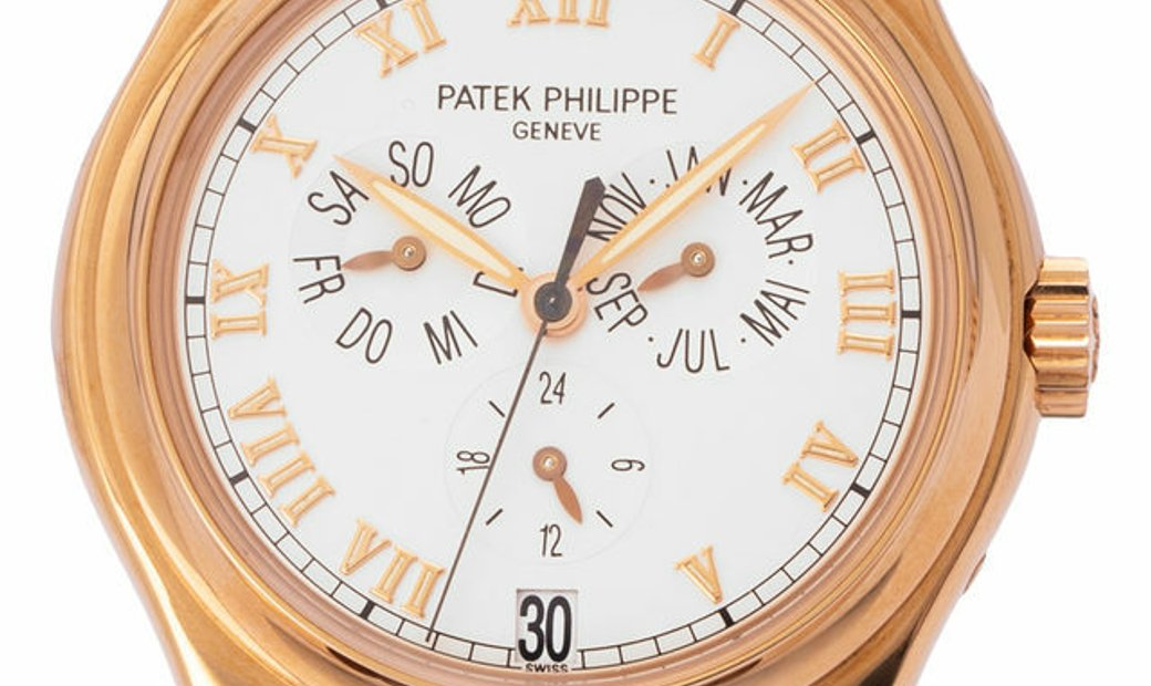 Patek Philippe Complications  5035R, Roman Numerals, 2005, Very Good, Case material Ros