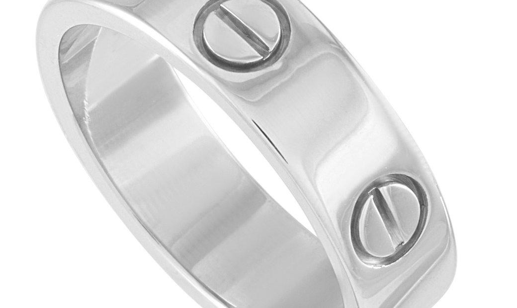 Cartier Cartier LOVE 18K White Gold Ring
