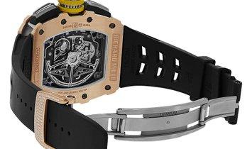 Richard Mille Rose Gold Gem Set Titanium Chronograph Watch RM11-03