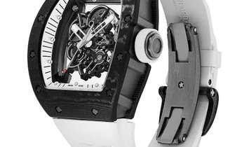 Richard Mille Bubba Watson White Legend Titanium Watch RM055
