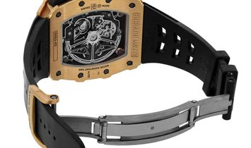 Richard Mille Rose Gold Flyback Chronograph Watch RM11-03