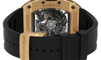 Richard Mille Titanium Rose Gold Automatic Watch RM030