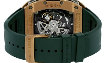 Richard Mille Le Mans Rose Gold and Titanium Flyback Chronograph Watch RM011