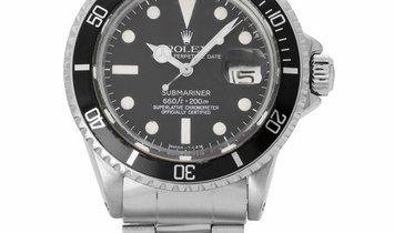 Rolex Submariner 1680, Baton, 1975, Good, Case material Steel, Bracelet material: Steel