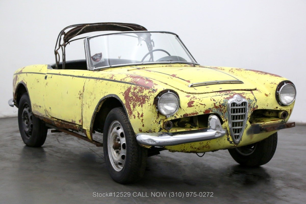 1963 Alfa Romeo Giulia In Los Angeles Ca Ca United States For Sale 11113068