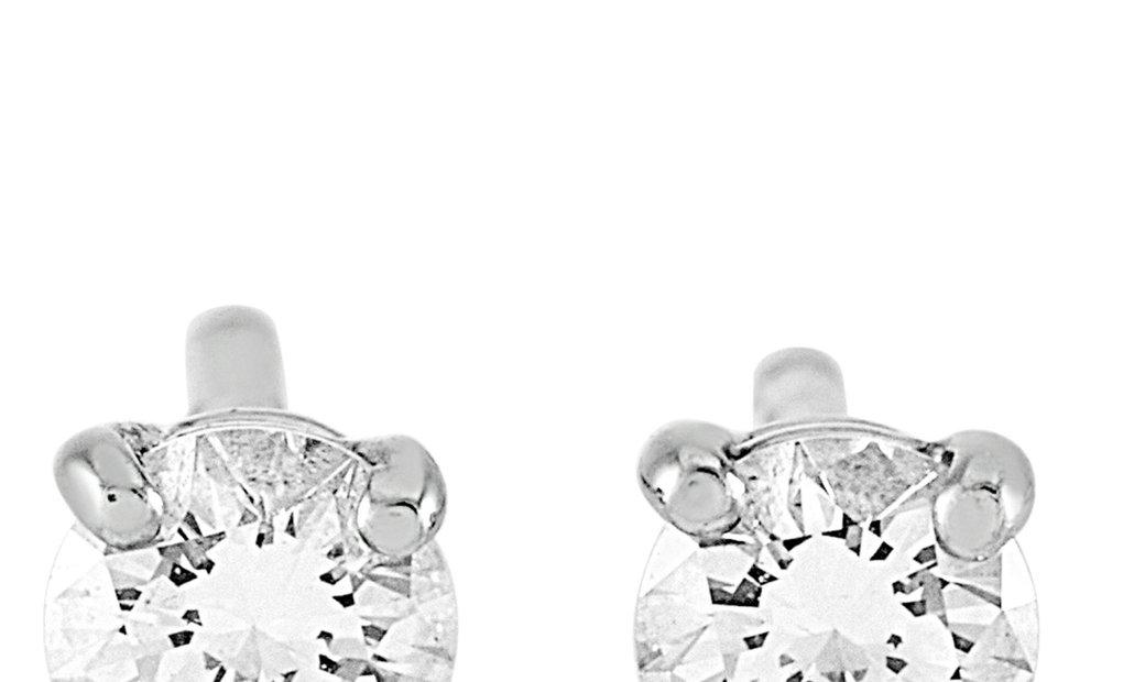 Tiffany & Co. Tiffany & Co. Platinum 0.25 ct Diamond Solitaire Stud Earrings