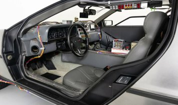 1981 DeLorean DMC-12 Time Machine