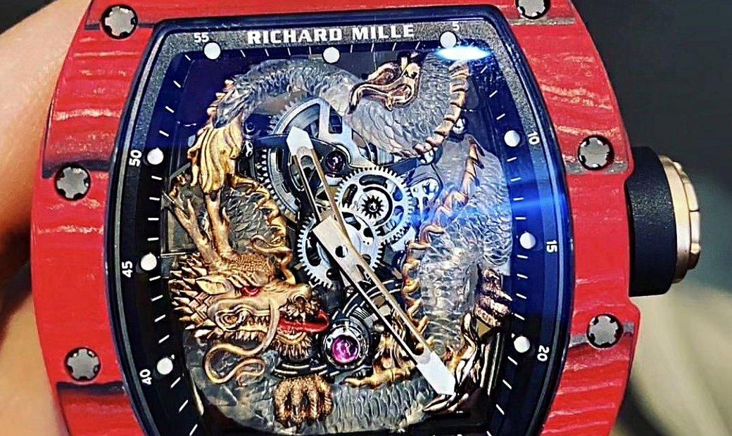 Richard Mille [NEW] RM 57-03 Red Dragon Sapphire Tourbillon