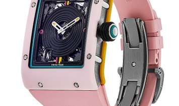 Richard Mille Bonbon Collection Reglisse Titanium Pink Ceramic Watch RM16-01