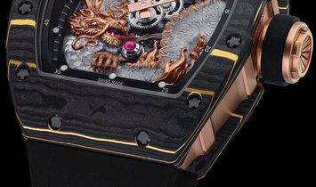 Richard Mille [NEW] RM 57-03 Dragon Sapphire NTPT Tourbillon