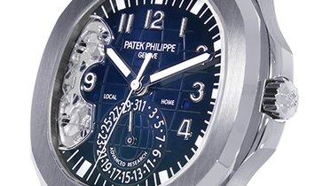 Patek Philippe Aquanaut Advanced Research Blue Dial Watch 5650G