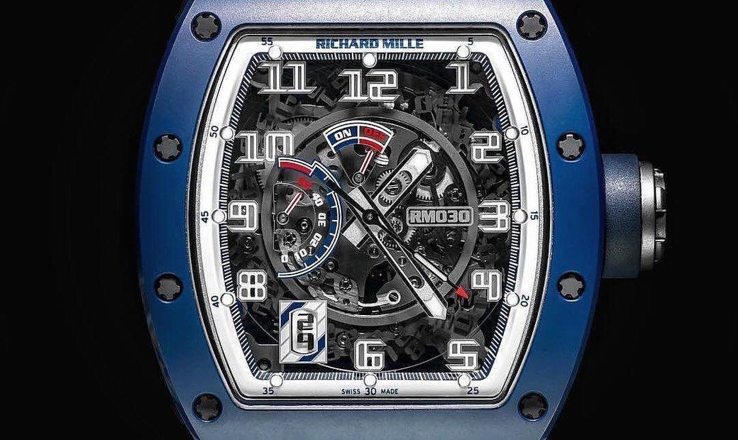 Richard Mille [NEW] RM 030 Blue Ceramic EMEA Limited Edition