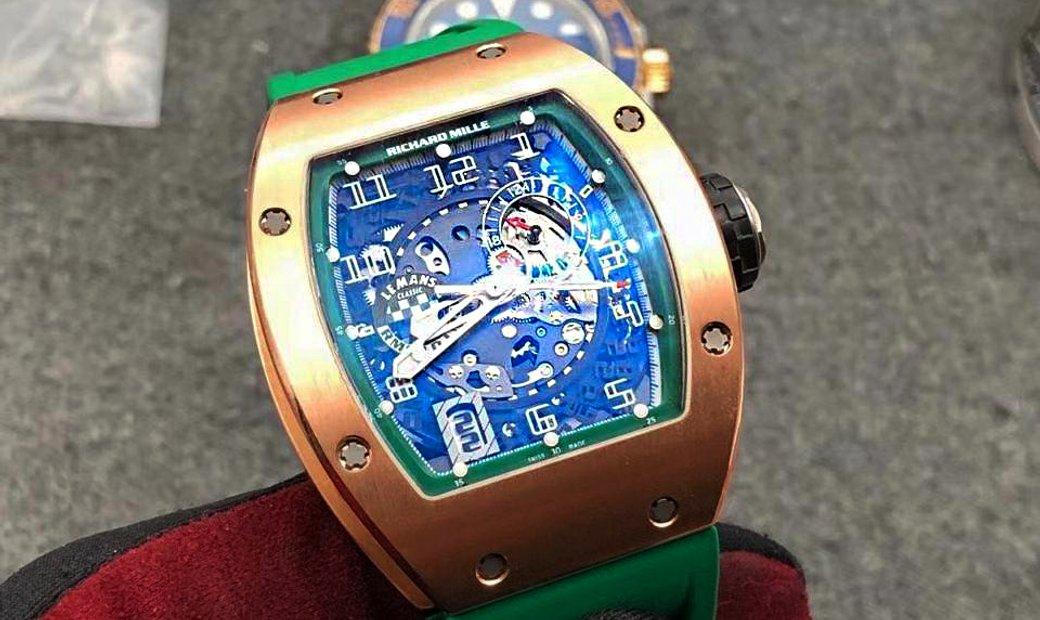 Richard Mille RM 010 Lemans Rose Gold Watch