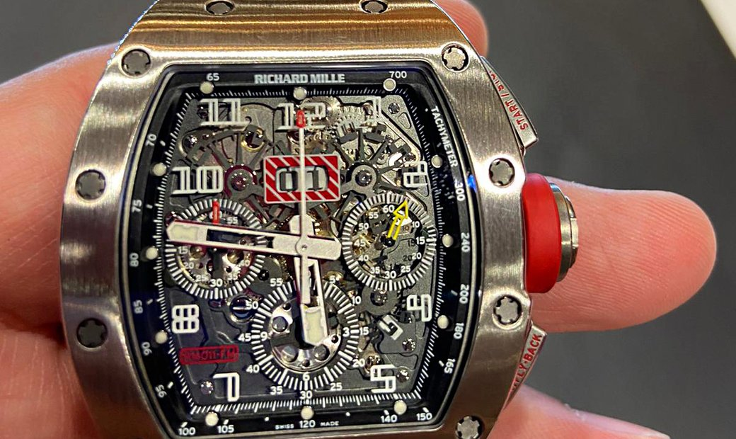 Richard Mille RM 011 White Gold Watch