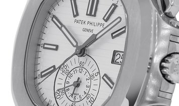 Patek Philippe Nautilus Stainless Steel Chronograph Watch 5980/1A-019