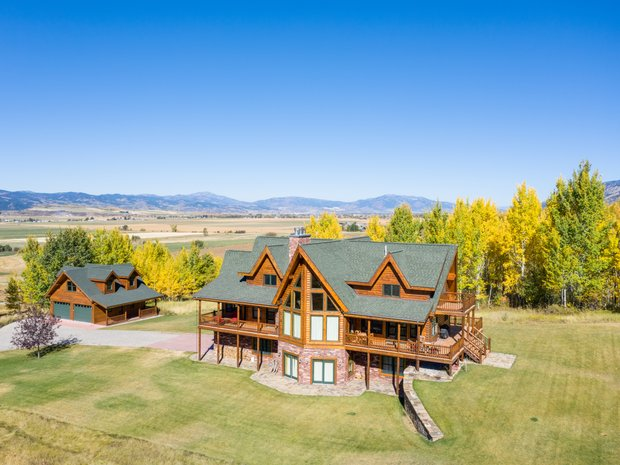 House in Bedford, Wyoming, United States 1