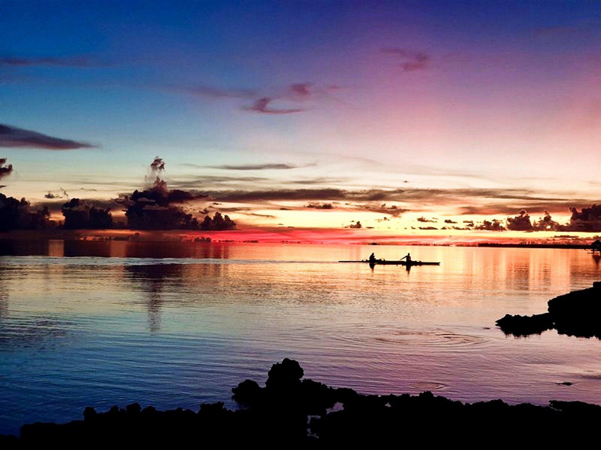 House in Rangiroa, The Tuamotu and Gambier Islands, French Polynesia 1