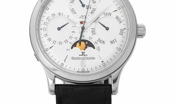 Jaeger-LeCoultre Master Perpetual 140.8.80 S, Baton, 2005, Very Good, Case material Ste