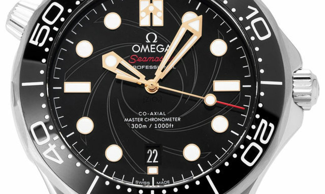 Omega Seamaster Diver  300M Co-Axial Master Chronometer  210.22.42.20.01.004, Baton, 20