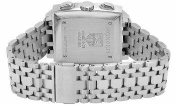 TAG Heuer Monaco CW2113.BA0780, Baton, 2002, Very Good, Case material Steel, Bracelet m