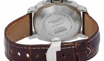 Panerai Luminor Marina PAM00164, Arabic Numerals, 2013, Good, Case material Steel, Brac