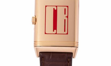 Jaeger-LeCoultre Reverso Grande Taille 270.2.36, Arabic Numerals, 2002, Very Good, Case