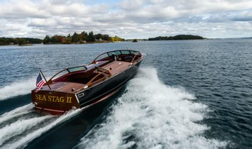 Stephens Brothers Triple Cockpit Runabout