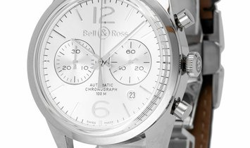 Bell and Ross Vintage 126 BR126-94, Baton, 2017, Very Good, Case material Steel, Bracel