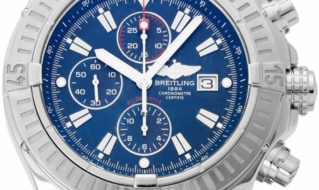 Breitling Super Avenger A13370, Baton, 2012, Very Good, Case material Steel, Bracelet m