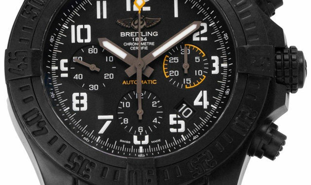 Breitling Avenger Hurricane 45 XB0180E4.BF31.109W.M20BASA.1, Arabic Numerals, 2018, Goo