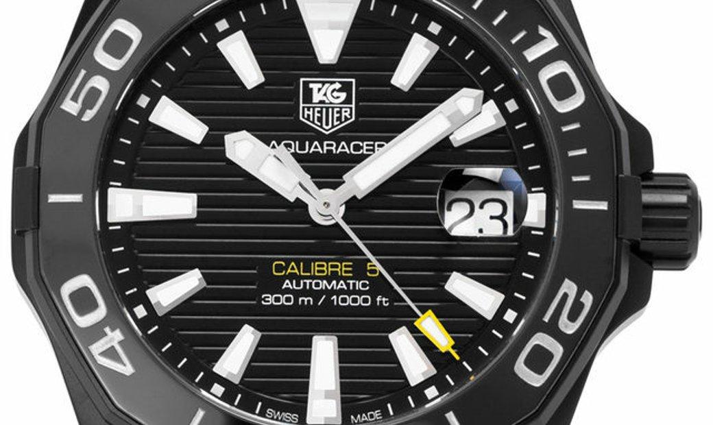 TAG Heuer Aquaracer WAY218A.FC6362, Baton, 2020, Very Good, Case material Steel, Bracel