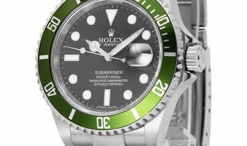 Rolex Submariner 16610LV, Baton, 2010, Very Good, Case material Steel, Bracelet materia