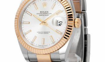 Rolex Datejust 126333, Baton, 2020, Very Good, Case material Steel, Bracelet material:
